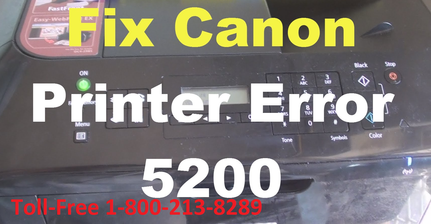 Ccanon printer Error 5200