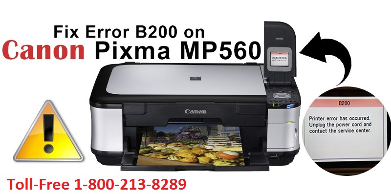 STEPS TO FIX ERROR B200 FOR CANON PIXMA MP560