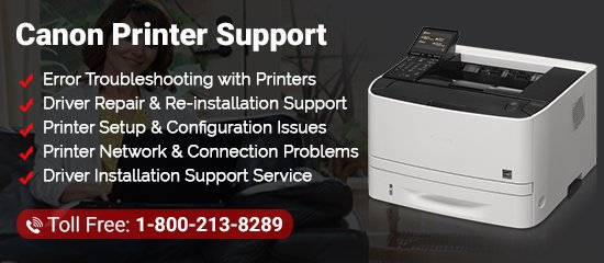 Canon Printer Support Phone Number 1-8002138289 Tech Support