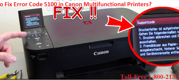 logo for Fix Error Code 5100 in Canon Multifunctional Printers