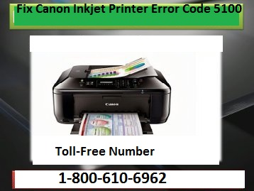 Canon Inkjet Printer Error Code 5100